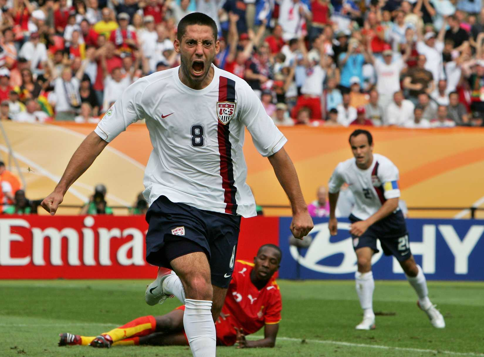 Clint Dempsey has been the best American soccer player since 2006 and maybe earlier.