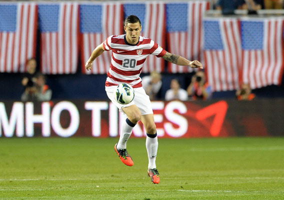 Geoff Cameron should start at center back.(Photo: BILL BARRETT/ISIPHOTOS.COM)