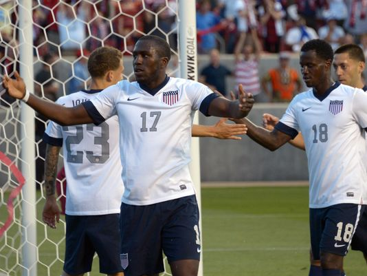 Jozy Altidore scored the game's only goal. (Photo: Kirby Lee, USA TODAY Sports)