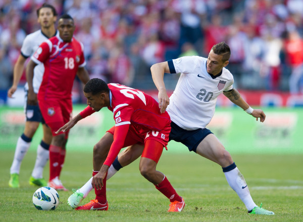 Geoff Cameron was everywhere against Panama. (Photo: ISIphotos.com)