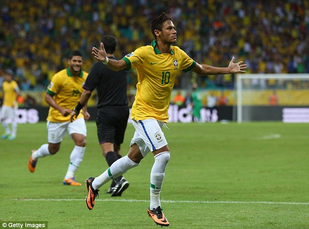 Neymar, Brazil's brightest star. (Photo: Getty Images)