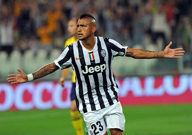 Arturo Vidal. (Photo: Massimo Pinca / AP)