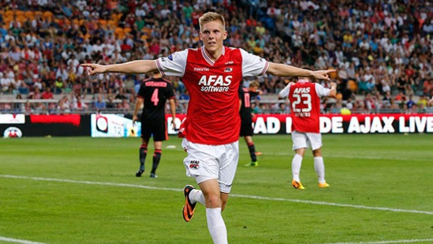 Aron Jóhannsson (Photo: AZ Alkmaar)