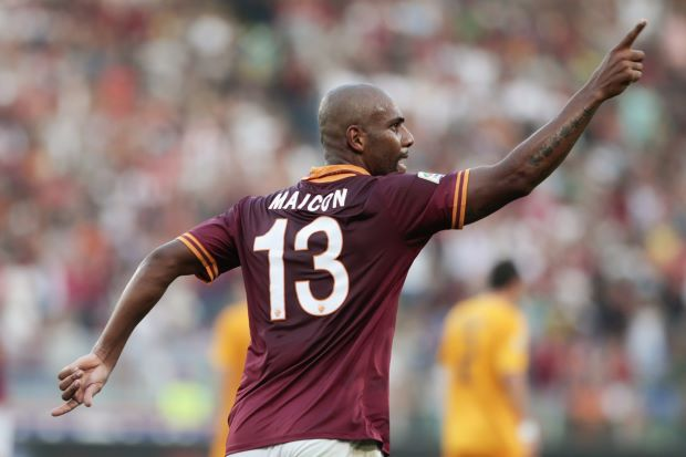 Maicon has returned to form with Roma. Photo: (Tony Gentile/REUTERS)