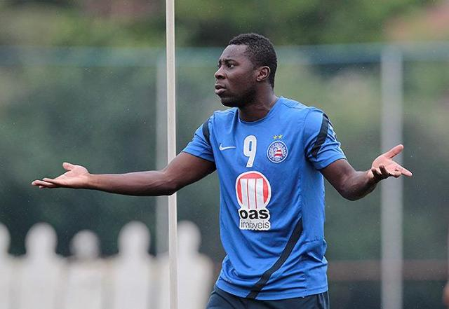 Freddy Adu's time with Bahia may be coming to a close. (Photo: E.C. Bahia)