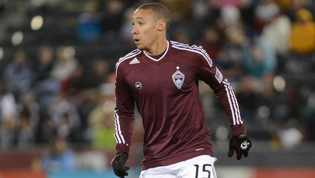 Chris Klute, the Best American Left Back. (Photo: Garrett Ellwood / Colorado Rapids)