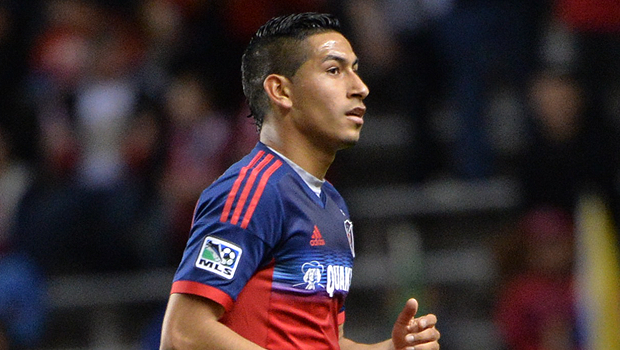 It's time to call up Benji Joya to bring on the next generation. (Photo: Chicago Fire)